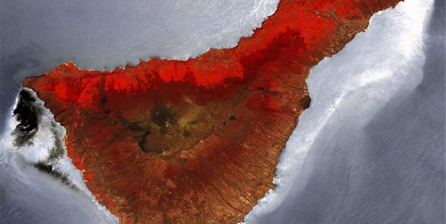 Turismo Turismo Canarias desde el espacio